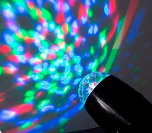 Proiector cu led multicolor Party